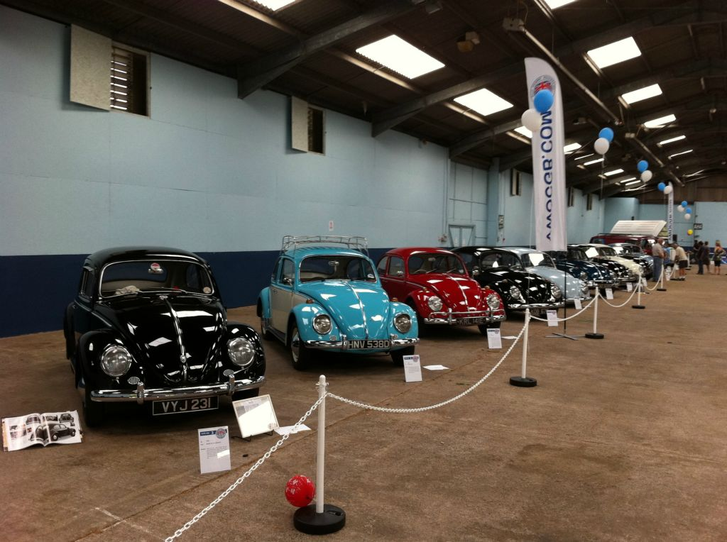 BVF Special Display organised by the VWOCGB